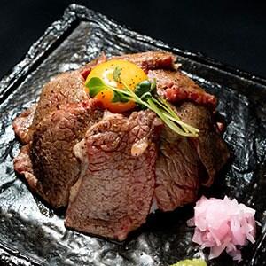 【WT12】A4黒毛和牛のカルビ丼