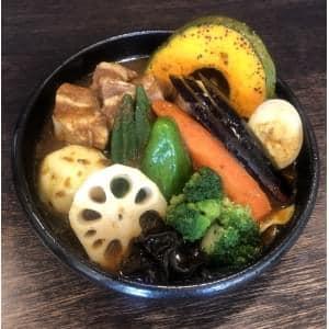 【スープ】角煮野菜カリー(Soup Pork&vegetable Curry)