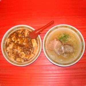 麻婆丼(ラーメン付)セット