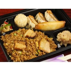 【104】豚の角煮炒飯弁当