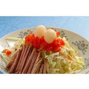 42.冷し中華麺(ゴマタレ)