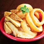 オニポテ Onion rings French fries
