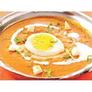 エッグキーマカレー・Egg Keema Curry