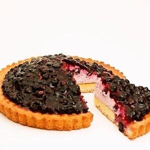 ブルーベリータルト Blueberry tart