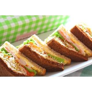 彩りサンドイッチ
