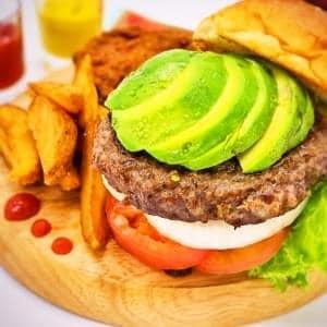 アボカドバーガー Avocado burger