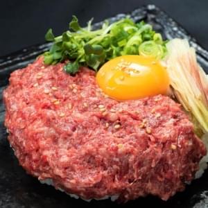 【MJ54】馬肉の生ネギトロ丼