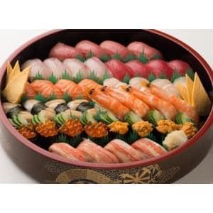 菖蒲(しょうぶ) 1人前当り10カン+飾り玉子【寿司・盛込】 1人前