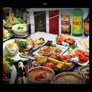 マジック B ファミリーセット インドとタイフードミックス/ MAGIC B Family Set Mix Thai Food 4人分/ For 4 people