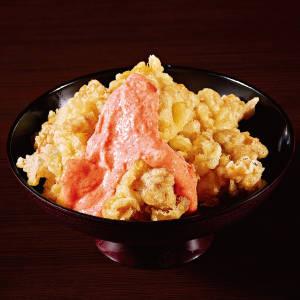 特価【8】特製 明太マヨの鶏天丼(中盛り) 通常価格(税込)1580円→