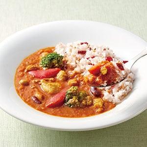 ジョナサン 野菜の旨み!トマトとチキンのヘルシー雑穀カレー