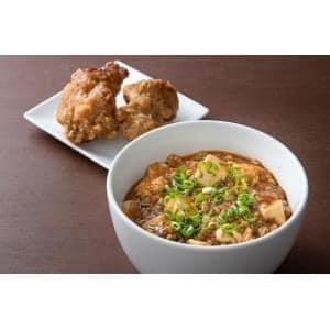 【E344】麻婆豆腐丼+唐揚げ2個