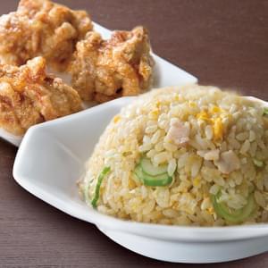 炒飯+唐揚げ3個セット
