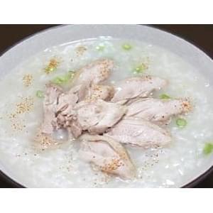 【95】鶏肉の千切りお粥