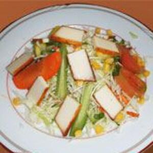 インドチーズサラダ