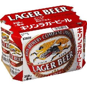 キリン ラガービール缶