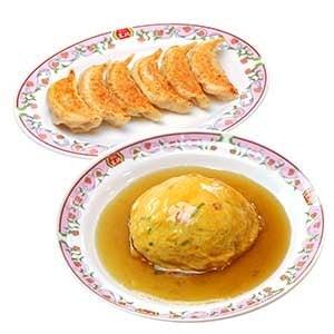 天津飯セット(天津飯・餃子)