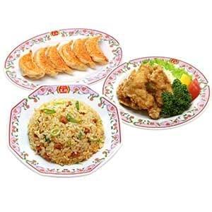 【デラックス】炒飯セット 鶏の唐揚付