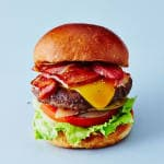 BACON CHEESE BURGER(ポテト付)