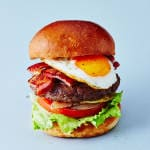 BACON EGG BURGER(ポテト付)