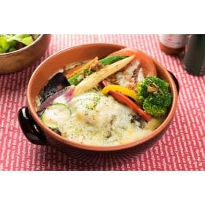 【HK17】彩り野菜の焼きカレー