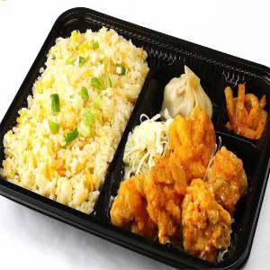サービス商品【91】鶏肉の唐揚げチャーハン弁当