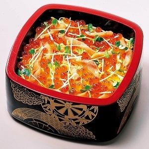 柿家鮨(かきやずし) いくら鮭親子重