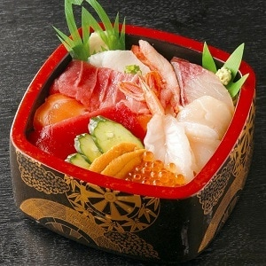 柿家鮨(かきやずし) 特上海鮮ちらし重