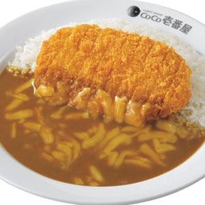 ロースカツ+チーズカレー弁当