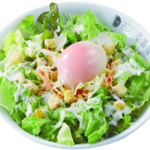 カレーハウスCoCo壱番屋 シーザーサラダ+半熟タマゴ