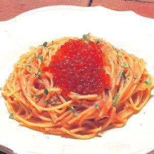 【半額】明太子とイクラのバター風味 ファミリーサイズ(Butter flavored Spaghetti with Seasoned cod roe and Salted salmon roe)  ファイミーサイズ 通常価格:税込3200円→半額 税込1600円