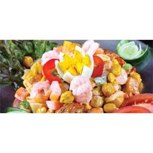 【1】世話スペシャルサラダ(Sewa Special Salad)