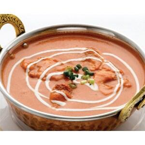 バターチキンカレー(Butter Chicken Curry) ナン(Nan)