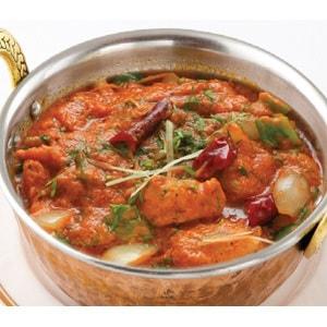 ポークカレー(Pork Curry) ナン(Nan)