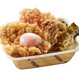 阿波尾鶏天丼弁当(半熟玉子付き)