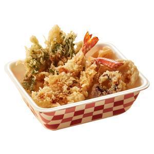 海老と蟹の天丼弁当