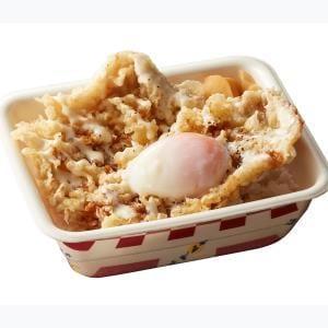 ダブルチーズポーク天丼弁当(半熟玉子付き)