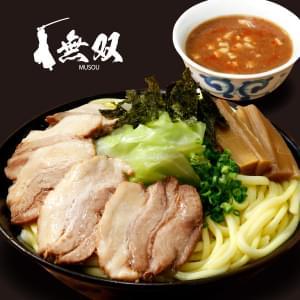 魚介豚骨【辛みそ・チャーシュー】つけ麺(麺特盛)