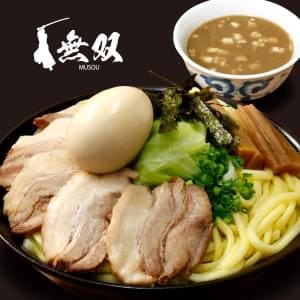 魚介豚骨【チャーシュー】つけ麺(麺特盛)味玉