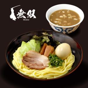 魚介豚骨つけ麺(並)味玉つき