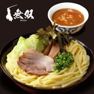 魚介豚骨【辛みそ】つけ麺(大盛り)