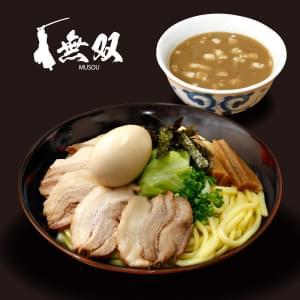魚介豚骨【チャーシュー】つけ麺(並)味玉