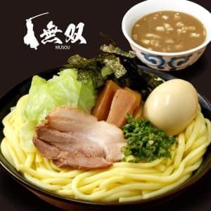 魚介豚骨つけ麺(麺特盛)味玉つき