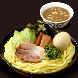 魚介豚骨つけ麺(大盛り)味玉つき