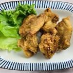 (単品)渾身の一撃!油淋鶏 Deep-Fried Chicken with Sweet and Sour Sauce