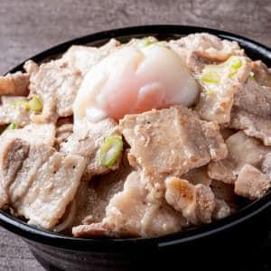 塩スタミナどんぶり 並盛り(肉150g)