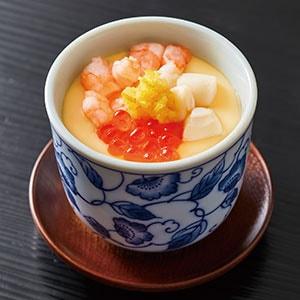 すし上等! 海鮮茶碗蒸し(柚子のせ)