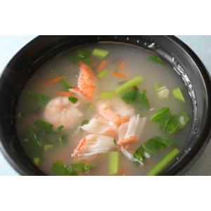 1海鮮お粥