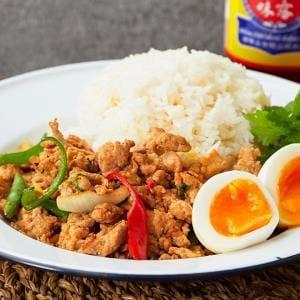 ガパオチキンライス Gapao chicken rice