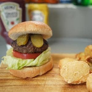 ハンバーガー セット《CLASSIC BURGER SET》